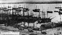 Так выглядела архангельская гавань в самом начале нашего столетия
