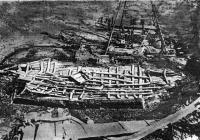 Так выглядели останки корабля после снятия верхнего слоя грунта и расчистки. Фото 1939 г.