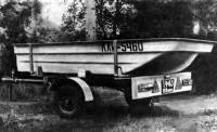 Трейлер с лодкой «Пелла»