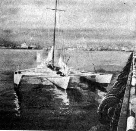 Тримаран «Таис-3» готов к выходу в море