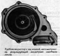 Турбокомпрессор с заслонкой
