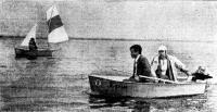Тузик «Ерш» с двумя пассажирами