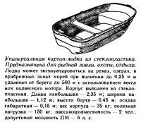Универсальная картоп-лодка из стеклопластика