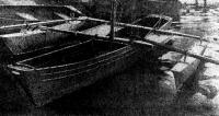 Универсальное моторно-парусно-вссельное судно из легкого сплава «Янтарь-турист»
