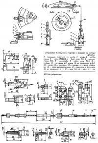 Устройство блокировки стартера и реверса на моторе «Вихрь»
