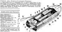 Устройство лодки «Романтика-2» сменившей «Романтику»