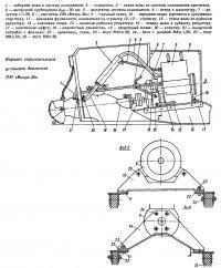 Вариант горизонтальной установки двигателя ПМ «Вихрь-30»