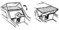 Вариант тента для открытой рубки