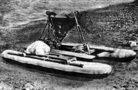 Велокатамаран с походным снаряжением