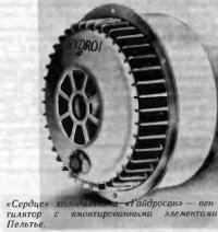 Вентилятор с вмонтированными элементами Пельтье