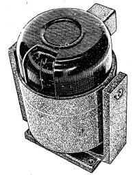 Внешний вид компаса КМ-69-1 на основании