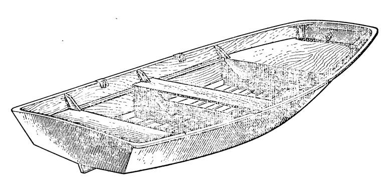 лодка тузик изо  фанеры чертежи