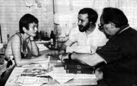 Встреча коллег в редакции