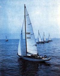Яхта-победитель Кубка Балтики «Алмаз»