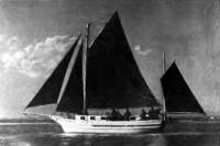 Яхта «Арман» под парусами