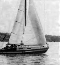 Яхта «Бартек-II» на воде