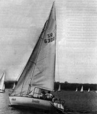 Яхта «Эллада» под парусами