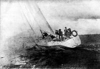 Яхта «Форвард» на испытаниях