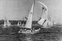 Яхта «Гонта» на соревнованиях