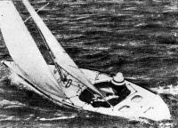 Яхта «Иллюзион» на ходу