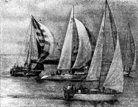 Яхта класса однотонник «Сескар»