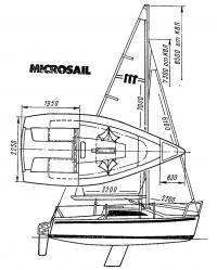 Яхта «Микросэйл»