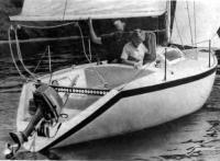 Яхта «Нева» на воде
