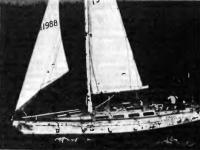 Яхта «Перри Индевер» в море