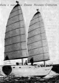 Яхта с парусами Джека Маннерс-Спенсера