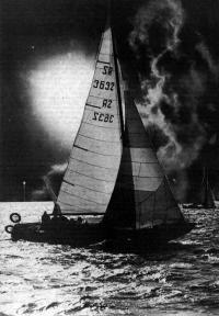 Яхта «Снарк» в водах Днепра