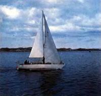 Яхта «Вега» выходит в море