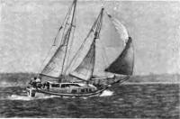 Яхта «Юрий Гагарин» на ходу