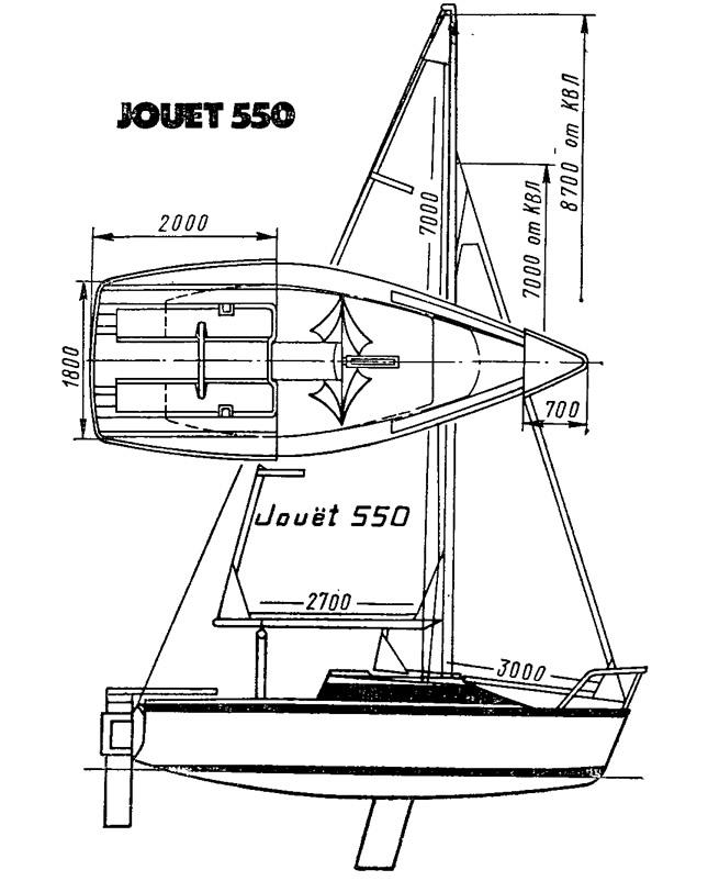 Яхта «Жуйе-550»