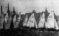 Яхты класса «470» на дистанции