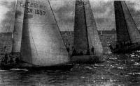 Яхты первой группы взяли старт