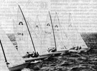 Яхты после старта