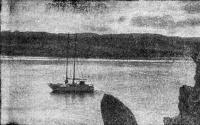 Яхты «Улисс» и «Вега» в Кильдинском заливе