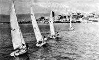 Яхты входят в гавань Несебыра после гонки