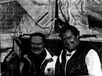 З. м. с. Борис Будников (слева) и м. с. м. к. Александр Зыбин