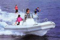 11-местная лодка с жестким днищем «Pro Open 550»