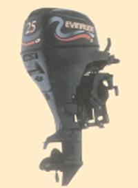 25-сильный мотор Эвинруд