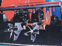4. Суперкавитирующие полупогруженные винты быстроходного катера