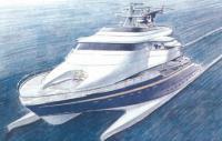 50-метровая волнопронизывающая яхта