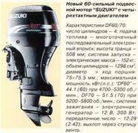 60-сильный подвесной мотор