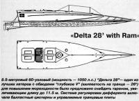 """8.5-метровый 60-узловый катер """"Дельта 28"""""""