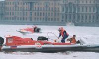 """""""Аквародео"""": спортсмен против закапризничавшей лодки"""