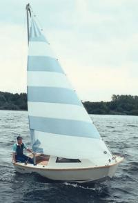 Алюминиевая яхта, спроектированная Литеком по заказу Адмиралтейских верфей