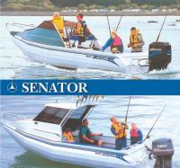 Алюминиевые катера Senator