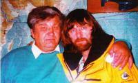 Анатолий Большаков (слева) и Федор Конюхов верят в успех российских яхтсменов