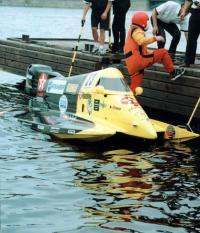 Андрей Берницин после гонки на поул-позишн